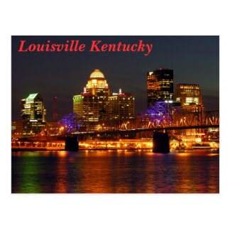 Louisville Kentucky Postkarte