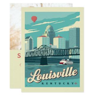 Louisville, Kenucky | Save the Date - Foto 14 X 19,5 Cm Einladungskarte