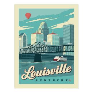 Louisville, Kenucky   Save the Date Postkarte