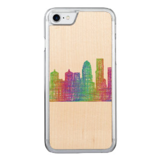 Louisville-Skyline Carved iPhone 8/7 Hülle