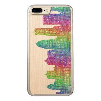 Louisville-Skyline Carved iPhone 8 Plus/7 Plus Hülle