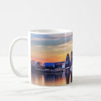 Louisville-Sonnenuntergang Kaffeetasse