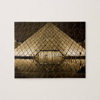 Louvre, Paris/Frankreich Puzzle