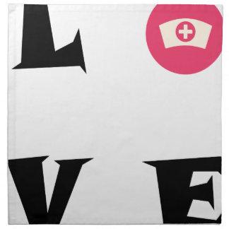 LOVE23 STOFFSERVIETTE