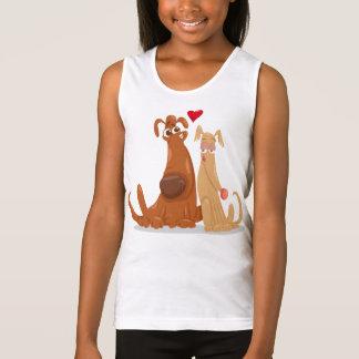 Love Dog for Tank Top Girl