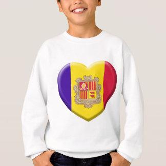 Love Fahne Andorra Sweatshirt