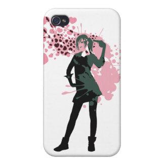 Love_Gun Etui Fürs iPhone 4