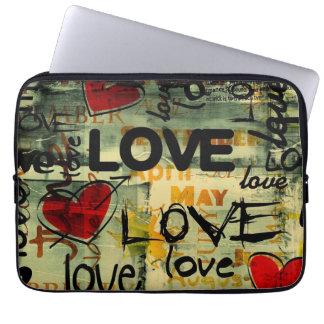 love heiratet laptopschutzhülle