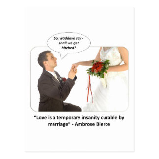 love-is-a-temporary-insanity-curable-by-01 postkarte