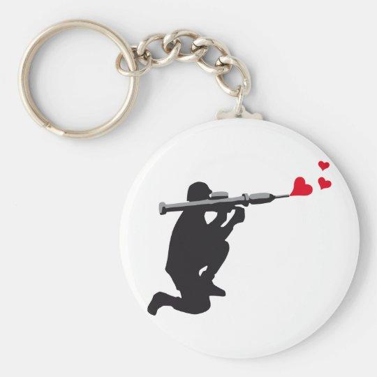Love Panzerfaust 3c Schlüsselanhänger