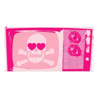 LOVE-TV-PINK BILDERKARTE