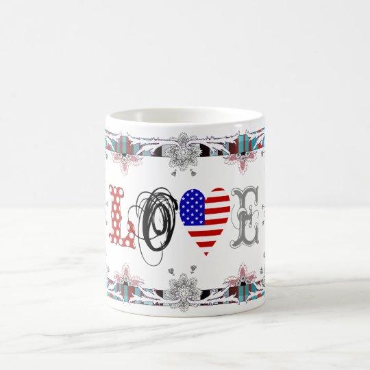 Love USA Kaffeetasse