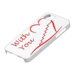 Love You, mit dir zusammen die Treppe hinauf Etui Fürs iPhone 5