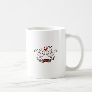 Lovebirds 2 kaffeetasse