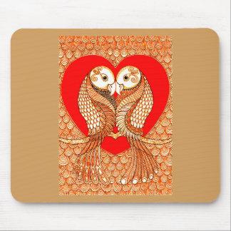 Lovebirds 2 mousepads