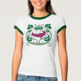 Lovebirds-Damen T T-Shirt