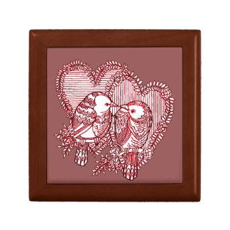 Lovebirds Erinnerungskiste