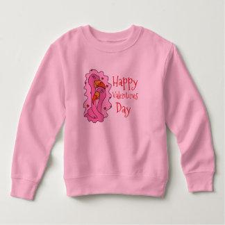 Lovebirds und Herzen ValentinetagesShirt Sweatshirt