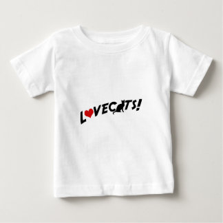 Lovecats Baby T-shirt