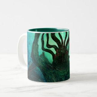 Lovecraft Cthulhu Mythos Wickelrock-Kunst Zweifarbige Tasse