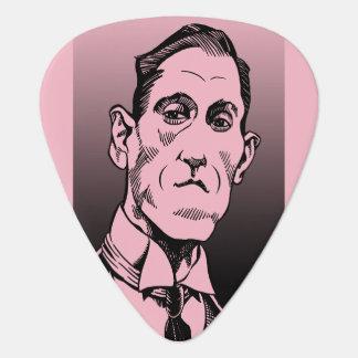 Lovecraft Plektrum, Lovecraft Porträt, Auswahl Plektron