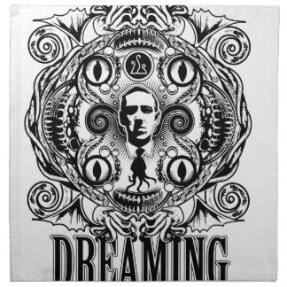 Lovecraftian Träume Serviette