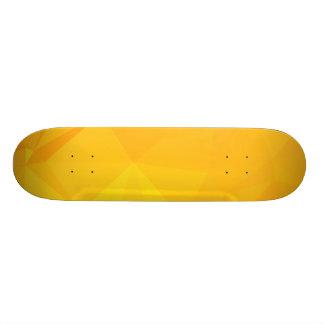 LoveGeo abstrakter geometrischer Entwurf - 18,4 Cm Mini Skateboard Deck