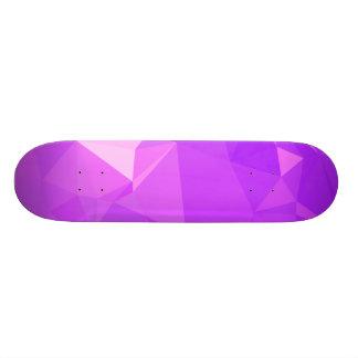 LoveGeo abstrakter geometrischer Entwurf - 20,1 Cm Skateboard Deck