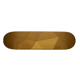 LoveGeo abstrakter geometrischer Entwurf - Felsen Skateboard