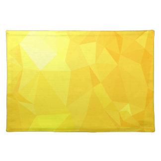 LoveGeo abstrakter geometrischer Entwurf - frische Tischset