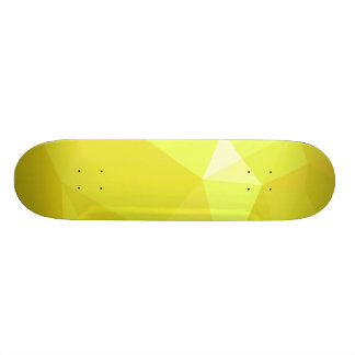 LoveGeo abstrakter geometrischer Entwurf - Makrone 18,1 Cm Old School Skateboard Deck