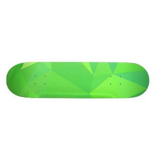 LoveGeo abstrakter geometrischer Entwurf - Skateboarddeck
