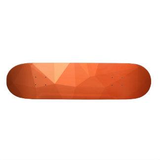 LoveGeo abstrakter geometrischer Entwurf - warmer 20,1 Cm Skateboard Deck