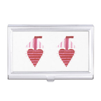 Loveheart Boots-Visitenkarte-Halter Visitenkarten Dose