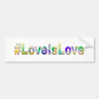 #loveislove Aufkleber Autoaufkleber
