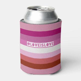 #LoveIsLove hashtag kann cooler Dosenkühler