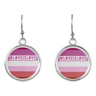 #LoveIsLove Ohrringe