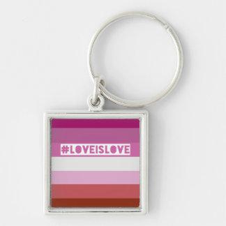 #LoveIsLove Schlüsselkette Schlüsselanhänger