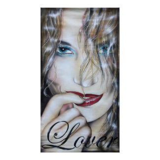 Lover print poster druck women painting gemälde