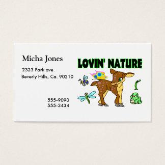 Lovin Natur-Tiere Visitenkarte