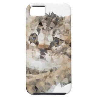 Low poly chaton etui fürs iPhone 5