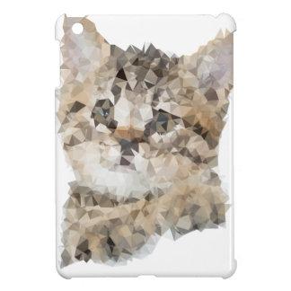 Low poly chaton iPad mini hülle