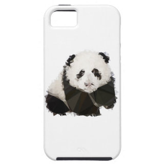 Low Poly Panda iPhone 5 Schutzhülle