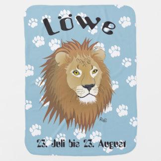 Löwe 23. Juli bis 22. August Babydecke