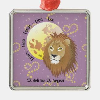 Löwe 23. Juli bis 22. August Ornament