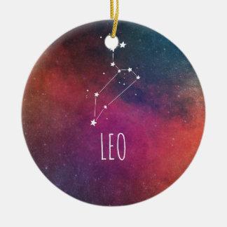 Löwe-Astrologie Keramik Ornament