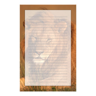 Löwe Briefpapier
