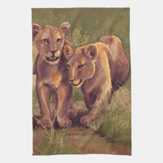 Löwe CUB Handtuch