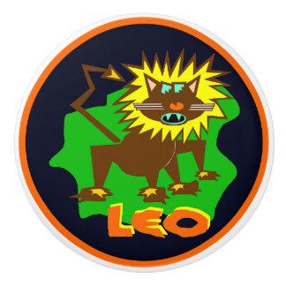 Löwe, der Löwe, Spaß-Grafik-Crafty Griff