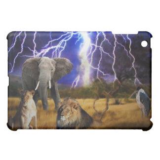 Löwe-Elefant Südafrika iPad Mini Hülle